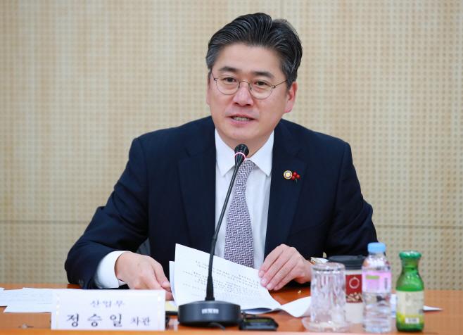정승일 산업부 차관, 수소경제 추진위 발언