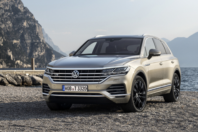 The new Volkswagen Touareg V8 TDI
