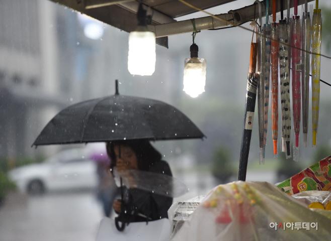 [포토]우산의 계절