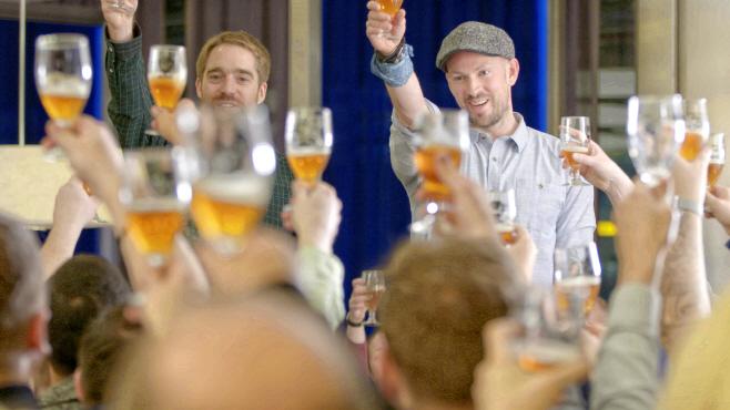 [이미지1] 영국항공, 100주년 기념 맥주 '스피드버드100'
