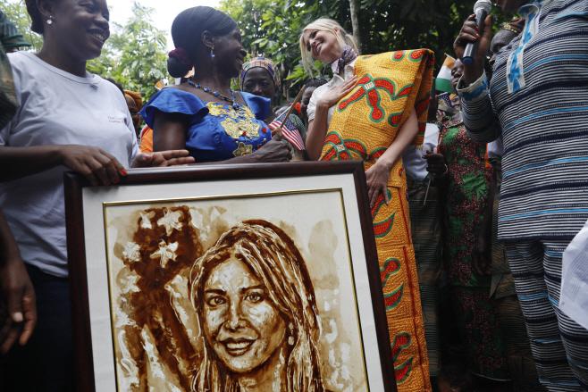 Ivory Coast Ivanka Trump