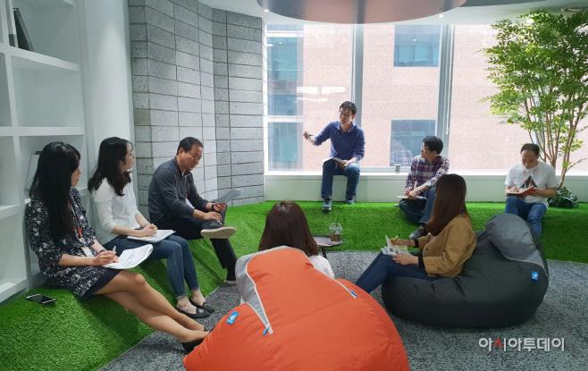 [사진자료]오렌지라이프 애자일 도입 1년 업무효율 향상