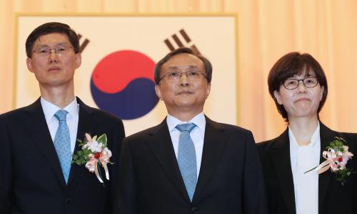 문형배·이미선 헌법재판관 취임식