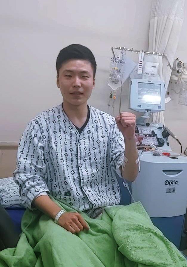 생면부지 환자에 조혈모세포 기증한 조동준 대위