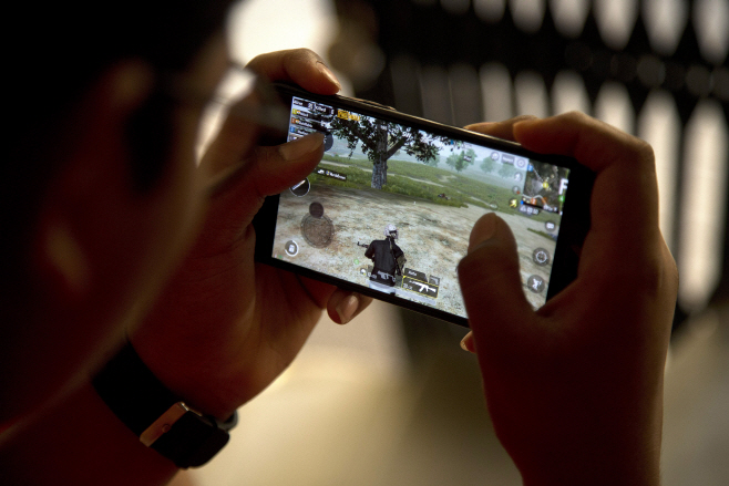 India Online Game Ban <YONHAP NO-4943> (AP)