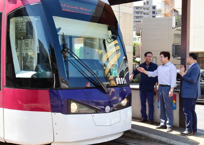트램·특례시, 일본 구마모토현에서 미리 체험