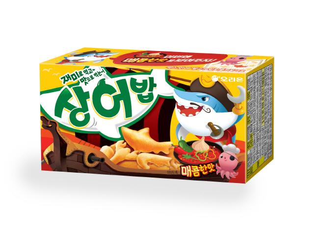 [오리온 사진자료] 오리온, 신제품 '상어밥 매콤한맛' 출시