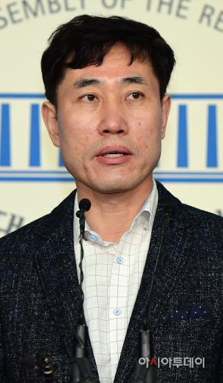 하태경 의원, 지만원 피해자 대책위원회 출범 기자회견