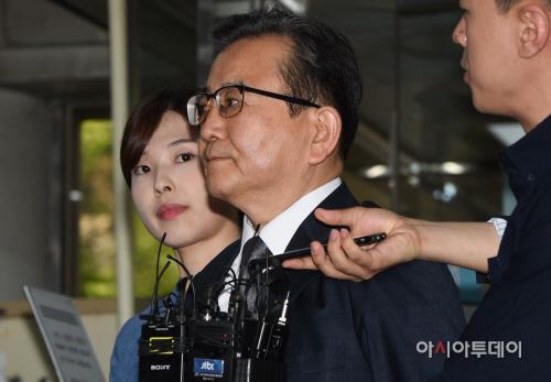 [포토]구속 전 피의자 심문 받는 김학의