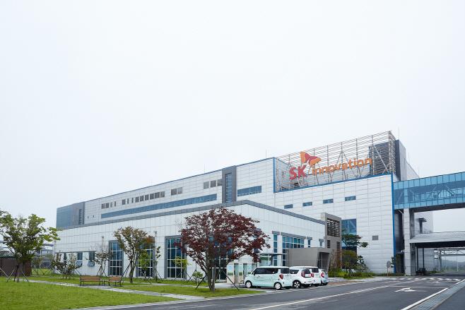 SK이노베이션 배터리 서산 공장 전경