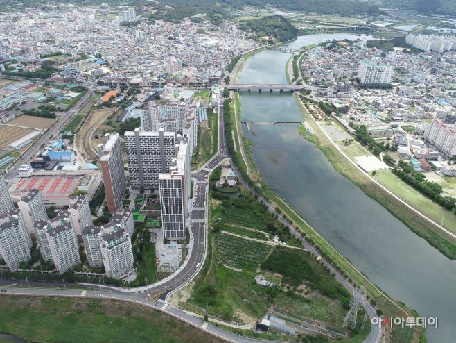 0612  롯데아파트~남천교간 도로 개통사진