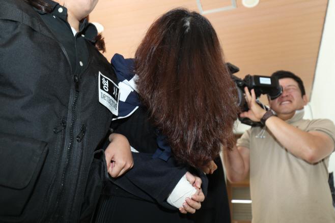 '제주 전 남편 살해 사건' 고유정 검찰 송치