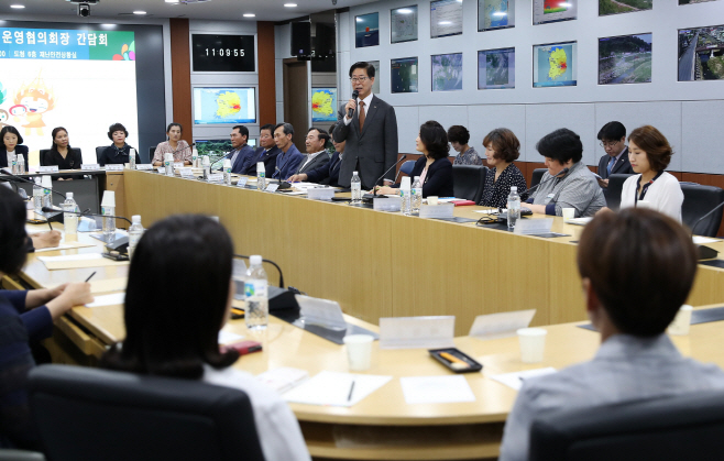 충남 보건진료소장과 보건복지 정책 공유·토론