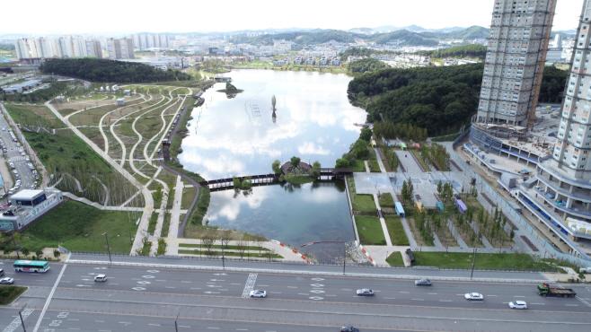 동탄호수공원 전경
