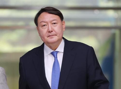 서울 중앙지검 나서는 신임 검찰총장 후보자