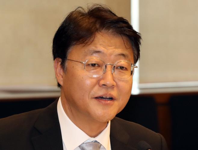 인사말 하는 주형철 신남방정책 특별위원회 위원장