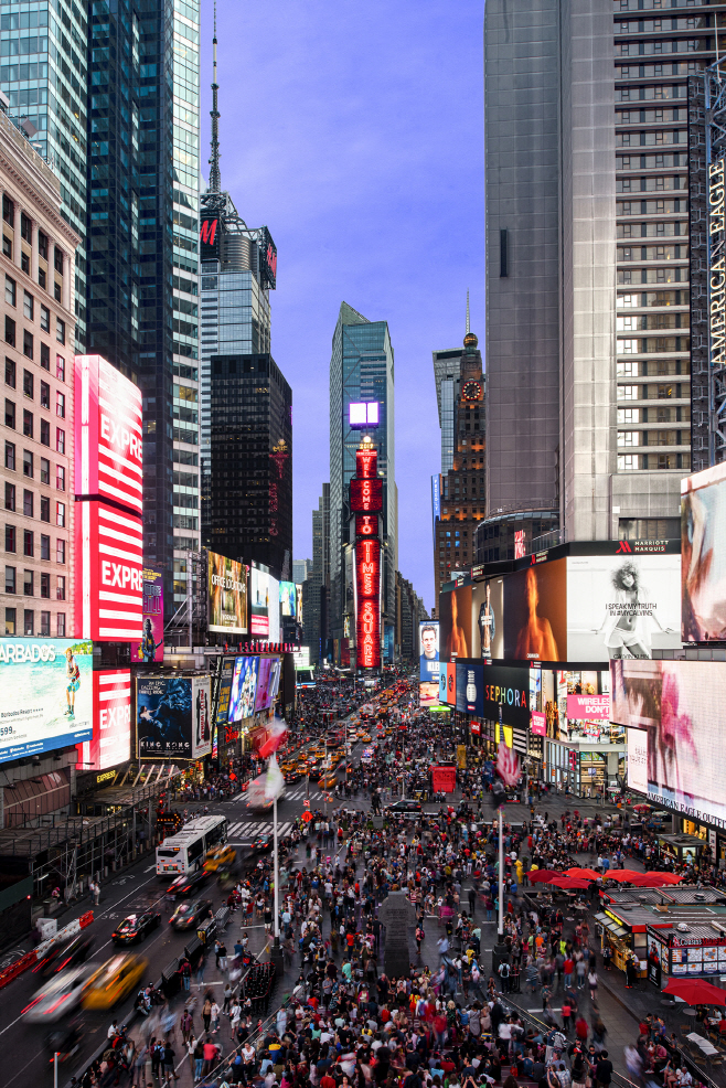 삼성 LED 사이니지 뉴욕 타임스 스퀘어 설치 공급(3)