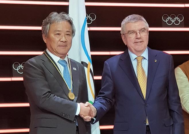 이기흥 체육회장, 역대 한국인 11번째 IOC 위원.