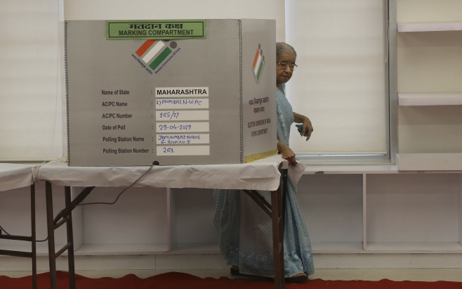 India Election <YONHAP NO-3824> (AP)