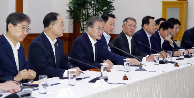 문 대통령, '일본의 수출규제 조치 대책은?'