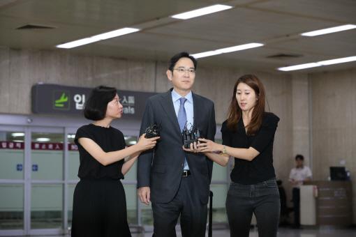 일본 출장 마친 이재용 삼성전자 부회장