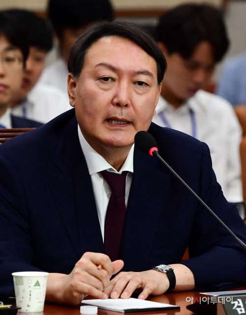 [포토] 윤석열 검찰총장 후보자 '정치적 중립 확실히 지킬 것'