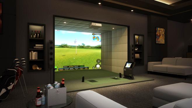 골프존 프리미엄 스크린골프 시스템