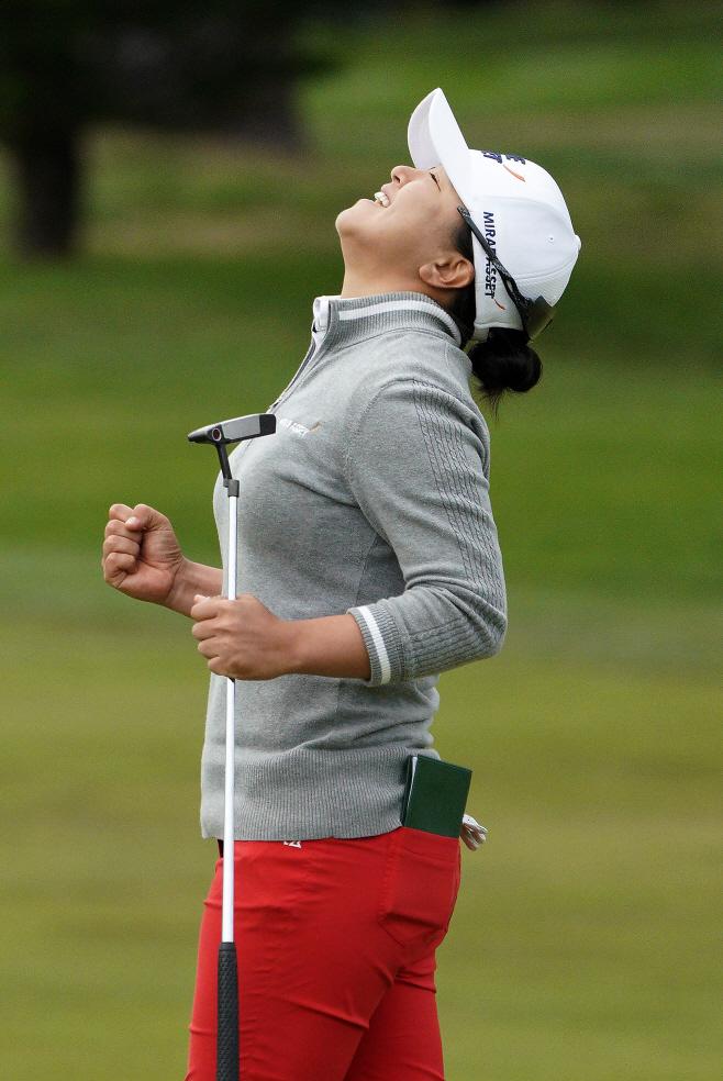 LPGA Tour Golf <YONHAP NO-2492> (AP)
