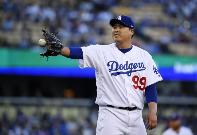 Marlins Dodgers Baseball <YONHAP NO-2444> (AP)