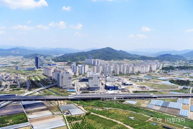 김천혁신도시 전경