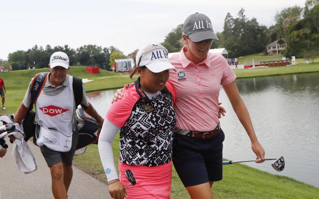 LPGA Tour Golf <YONHAP NO-0330> (AP)
