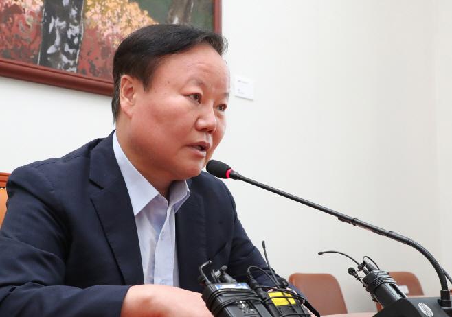김재원 위원장 '현재 추경안은?'