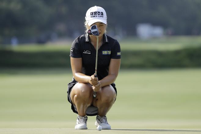 Womens Open Golf <YONHAP NO-1256> (AP)