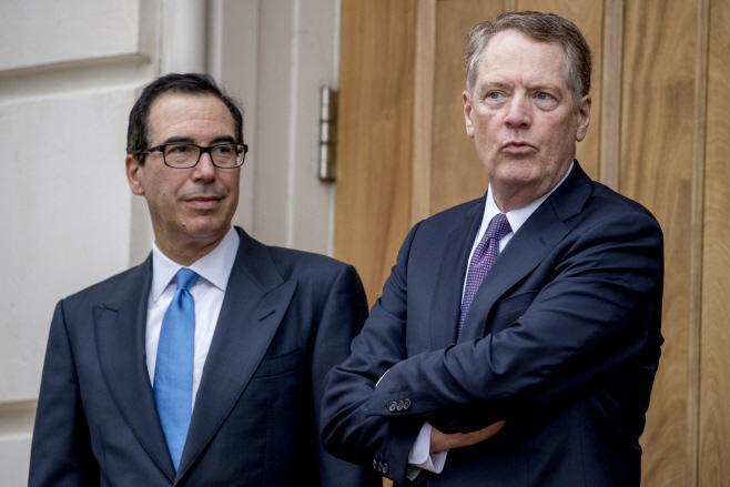 US China Trade Talks <YONHAP NO-4645> (AP)