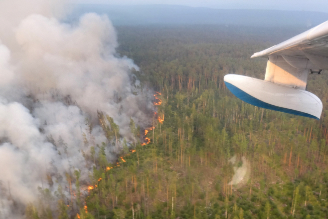 RUSSIA-FIRE-FORESTS <YONHAP NO-2211> (AFP)