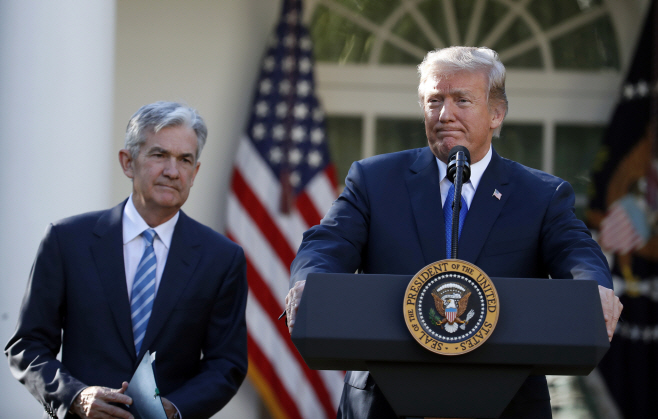 Federal Reserve Trump <YONHAP NO-0105> (AP)