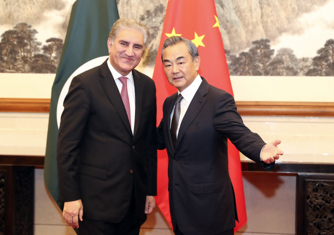 CHINA-BEIJING-WANG YI-PAKISTANI FM