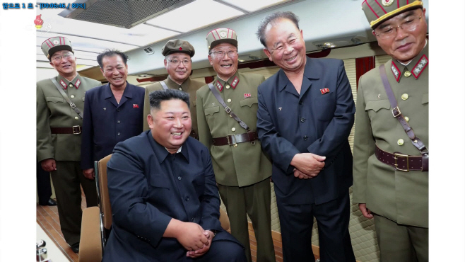 북한 TV, 함흥 발사장면 공개…