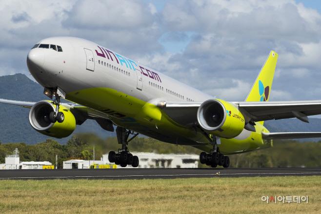 진에어, 777-200ER