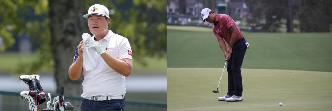 PGA 투어챔피언십 연습라운드 참가... (EPA)