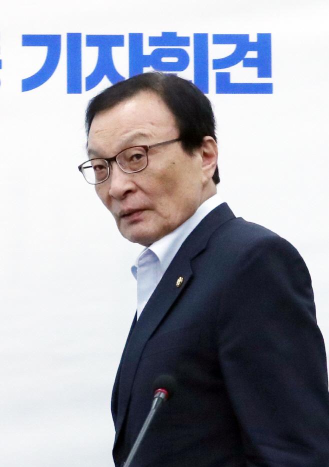 이해찬 '취임 1주년 공동 기자회견'
