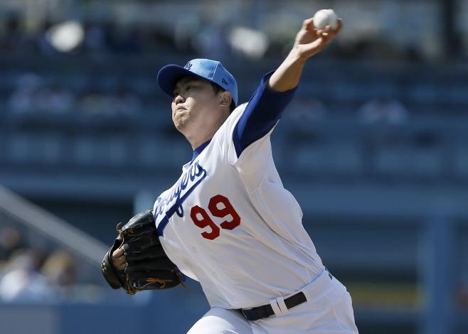 Cubs Dodgers Baseball <YONHAP NO-0888> (AP)