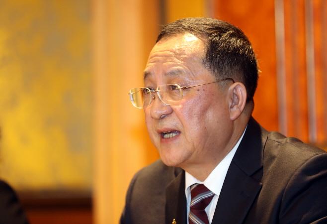 2차 정상회담 결렬 관련 입장 밝히는 북 리용호