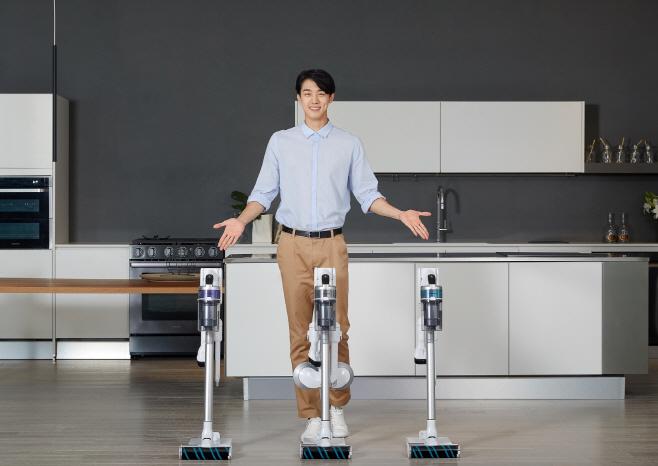 삼성전자 무선 청소기 '제트' 신제품 출시(2)