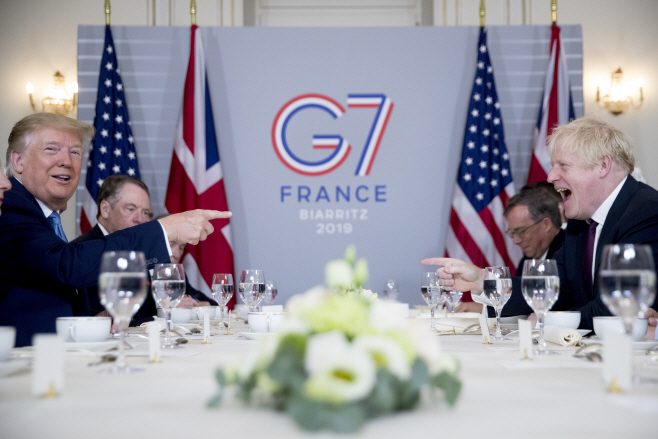 APTOPIX France G7 Summit Trump