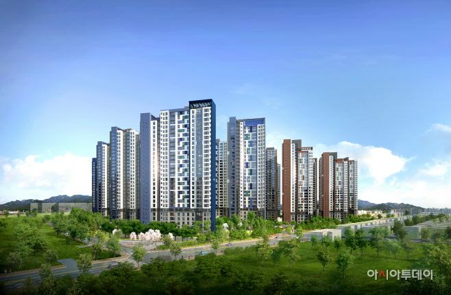 광주광역시 '염주 더샵 센트럴파크' 투시도 (3)