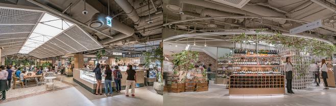 현대백화점 신촌점 식품관 F&B