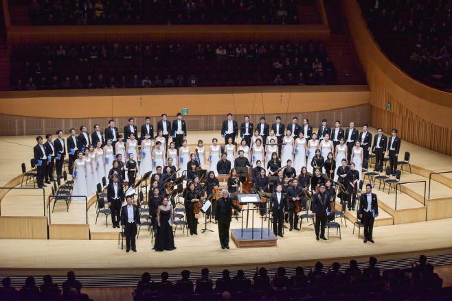 유럽투어 콘서트 대전시립합창단 사진