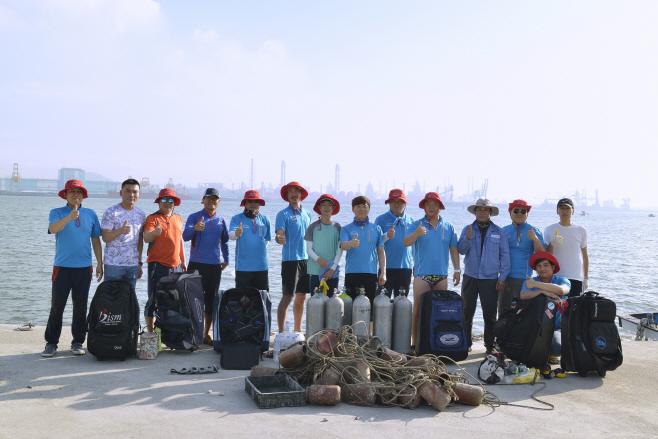 광양제철소 클린오션봉사단