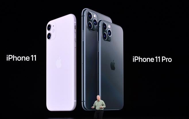 아이폰 11·11프로 공개하는 애플<YONHAP NO-0882 번역> (AFP)